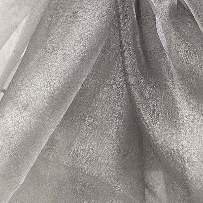 Organza Fabric - Platinum