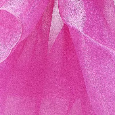 Organza Fabric - Raspberry