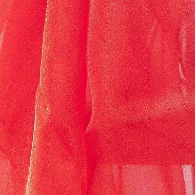 Organza Fabric - Red