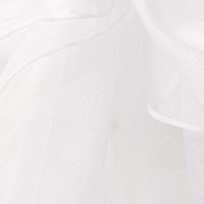 Organza Fabric - White