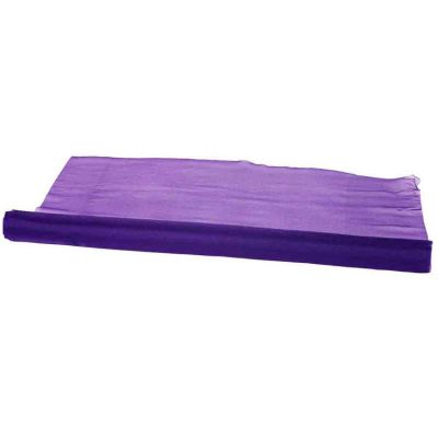 Organza Fabric 29cm x 25m Per Roll- Dark Purple