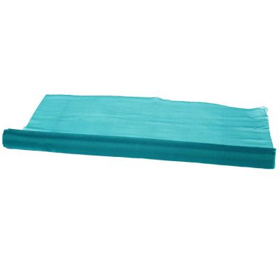 Organza Fabric 29cm x 25m Per Roll- Teal