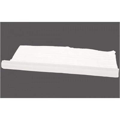 Organza Fabric 29cm x 25m Per Roll- White