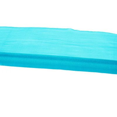 Organza Fabric 47cm x 10m Per Roll - Turquoise