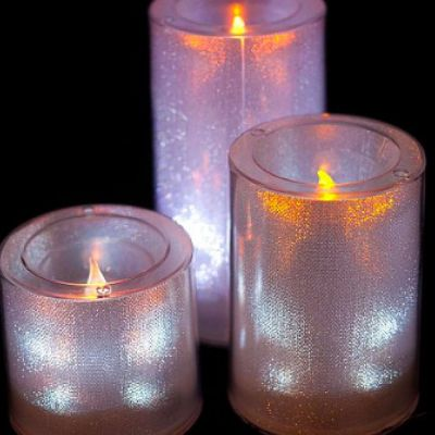Small LED Candles - White