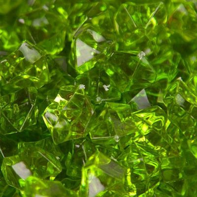 Medium Acrylic Coloured Stones 300g - Green