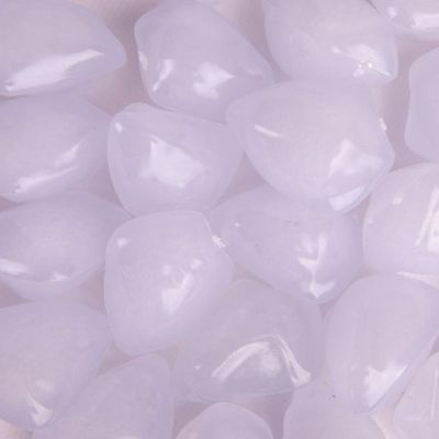 Floating Acrylic Stones 50 Pack - White