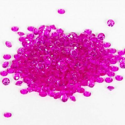 Scatter Crystals 5mm - Hot Pink