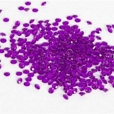 Scatter Crystals 5mm - Purple