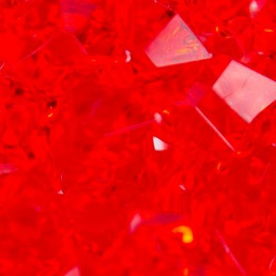 Large Acrylic Coloured Stones 300g - Red