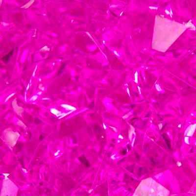 Large Acrylic Coloured Stones 1kg - Hot Pink