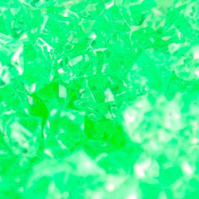 Large Acrylic Coloured Stones 1kg - Lime