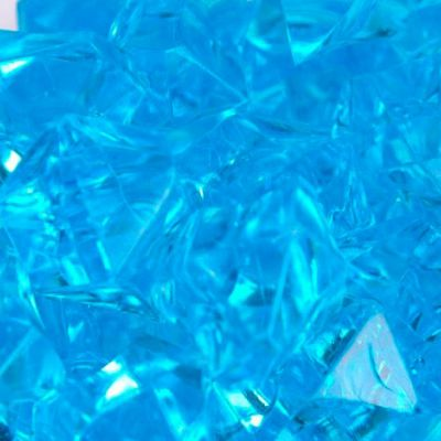 Large Acrylic Coloured Stones 1kg - Turquoise