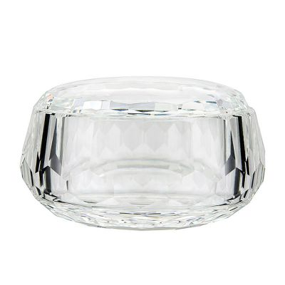 CRYSTAL CANDY DISH BOX WITH LID