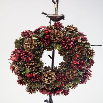 CHRISTMAS BERRY WREATH LARGE