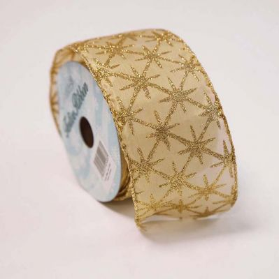 Christmas Sparkling Ribbon - Gold