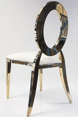Halo Chair - White/Gold