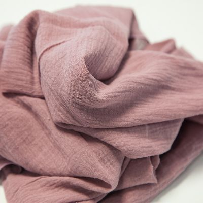 CHEESECLOTH FABRIC ROLL 20M MAUVE
