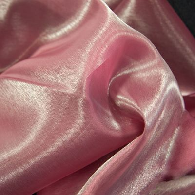 Silk Organza Fabric - Mulberry