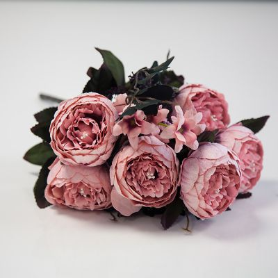 Suede Peony Bunch 06 - Blush Pink