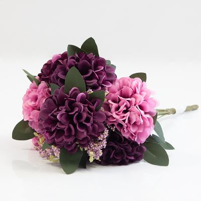 HYDRANGEA BUNCH NO 08 PINK PLUM