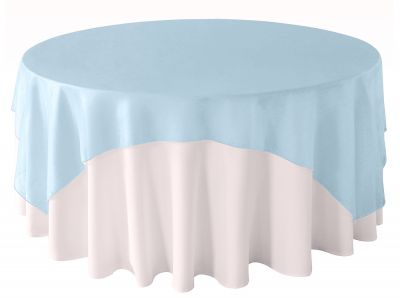 Organza Overlay 90 x 90 - Periwinkle