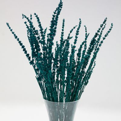 DRIED LAVENDER BUNCH TEAL
