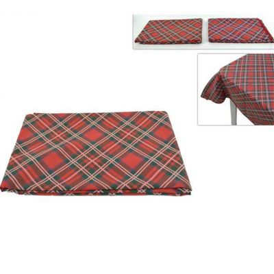 Christmas Tartan Dining Tablecloth