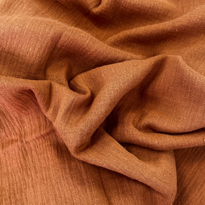 CHEESECLOTH FABRIC ROLL 20M TERRACOTTA