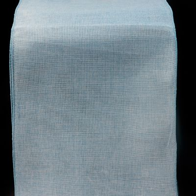 Linen Runner - Pale Blue