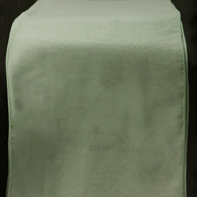 CHIFFON TABLE RUNNER - SAGE