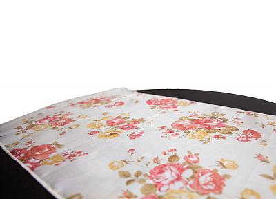 Floral Print Taffeta Table Runner