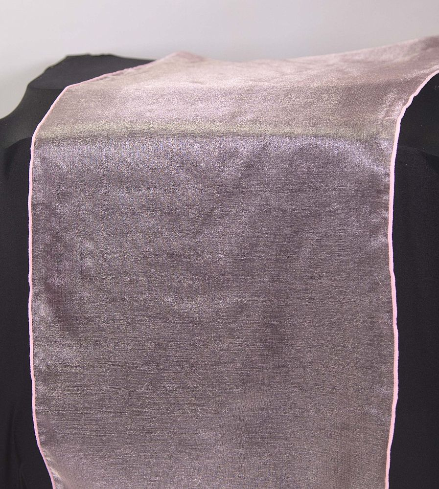 Organza Table Runner - Ice Pink