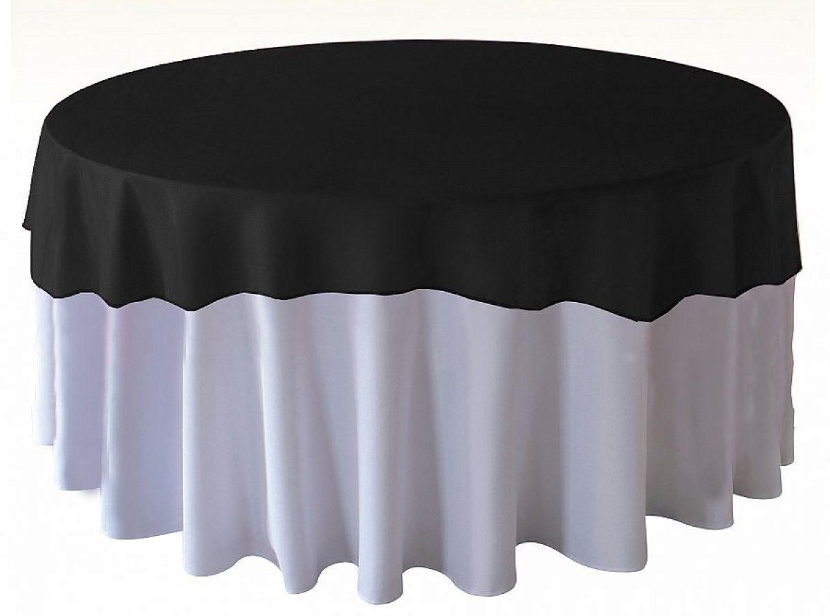 Organza Overlays - Black