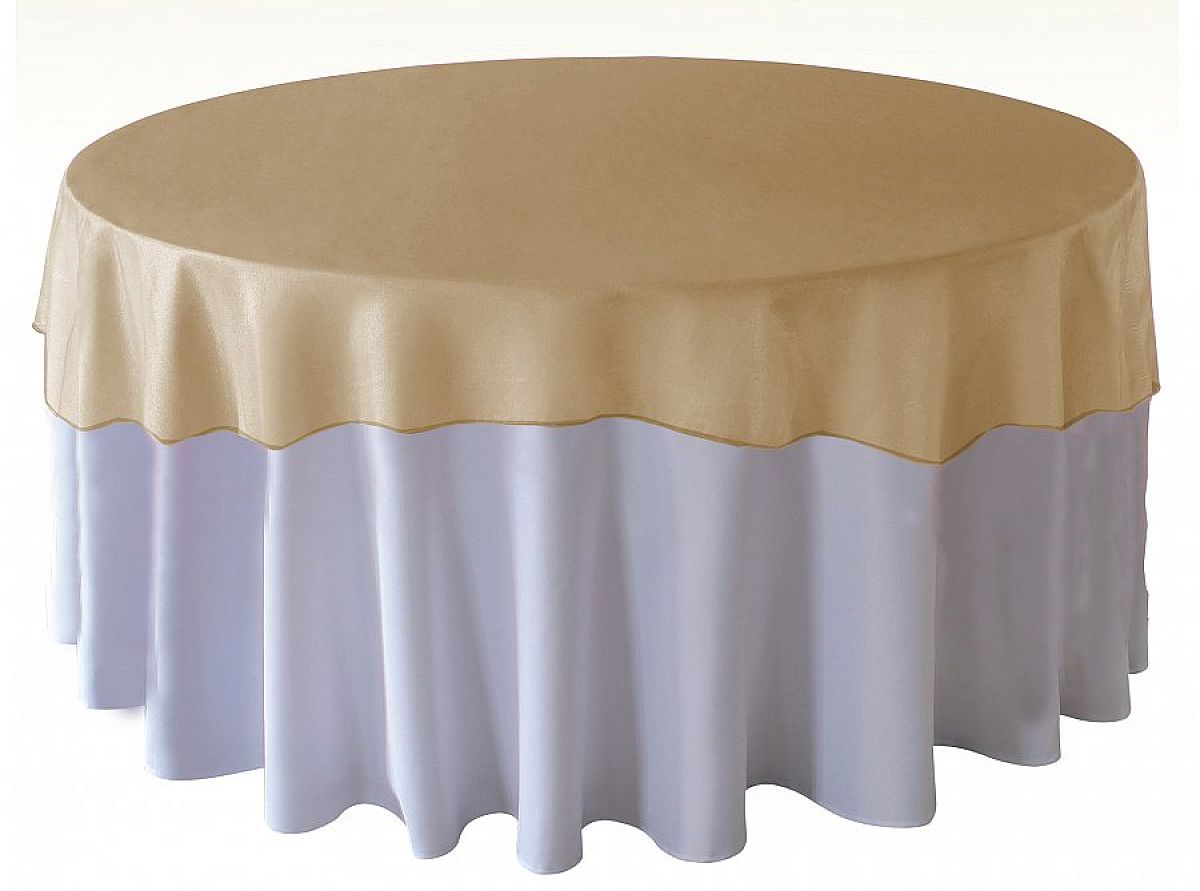 Organza Overlays - Regal Gold