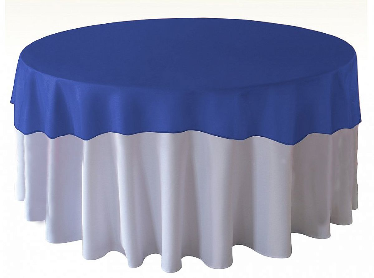 Organza Overlays - Royal Blue