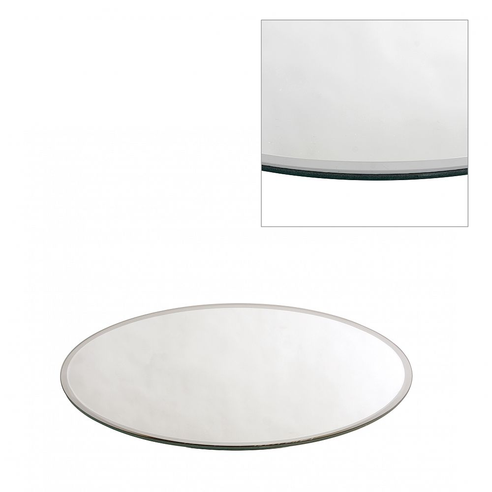 Buy Round Mirror Plate 30cm from Chair Cover Depot