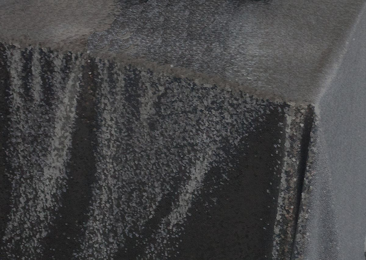 Sequin Table Cloth 70x144 - Black