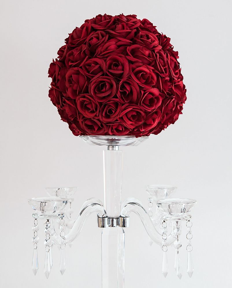 Red Kissing Ball 30cm