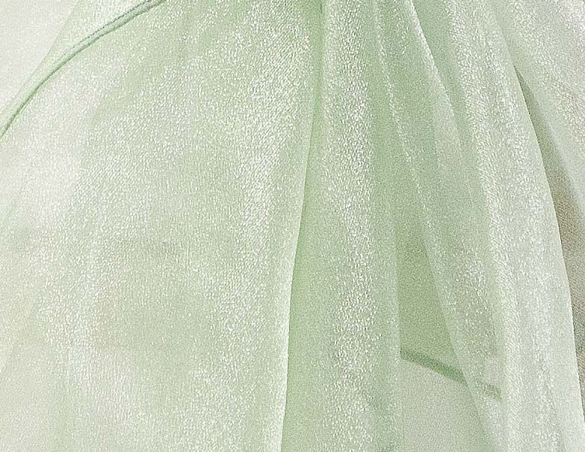 Organza Fabric - Mint
