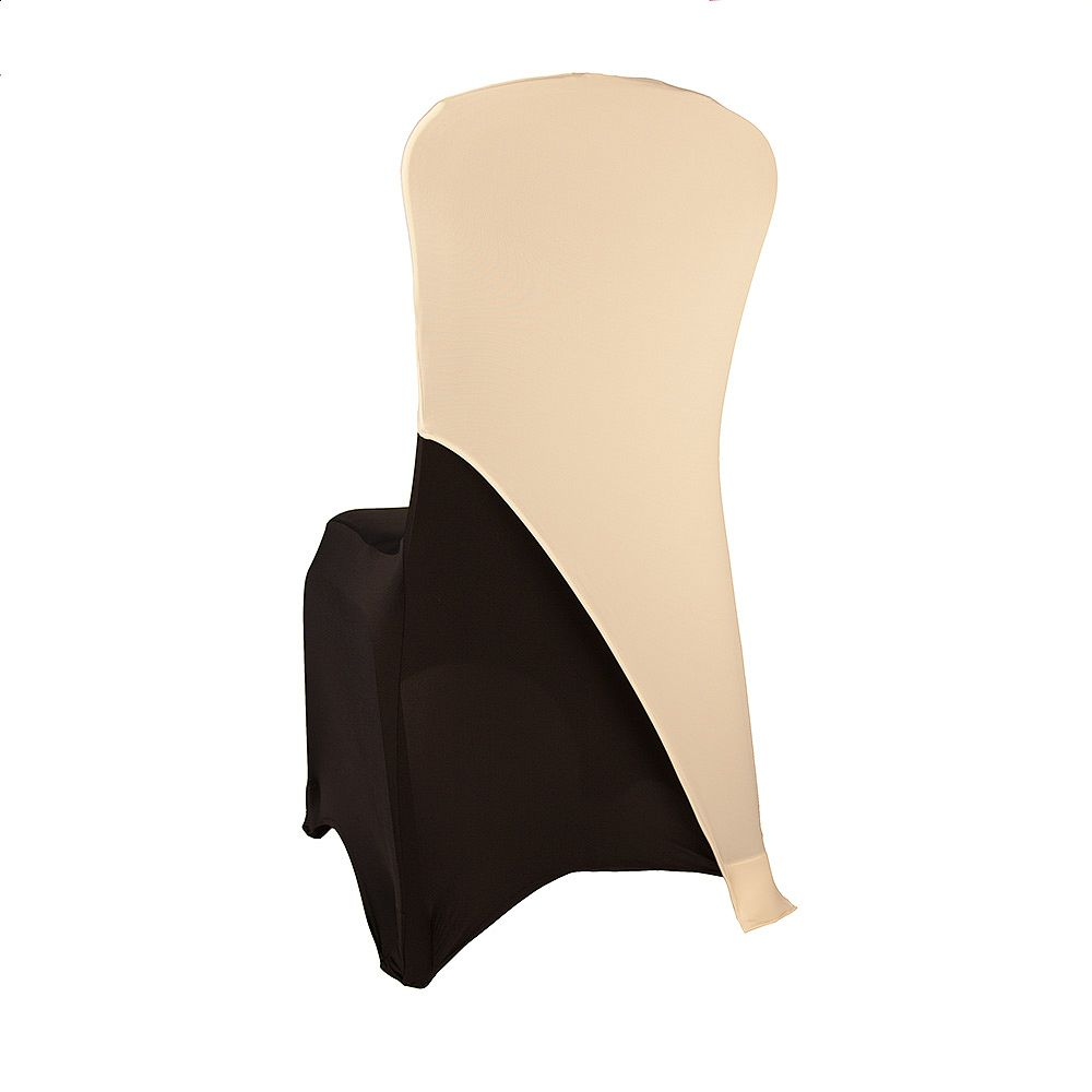Buy Spandex Lycra Chair Cap Angled Ivory From Chair