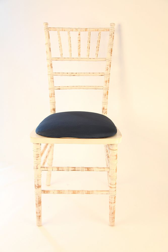 Spandex Seat Pad Covers - Navy
