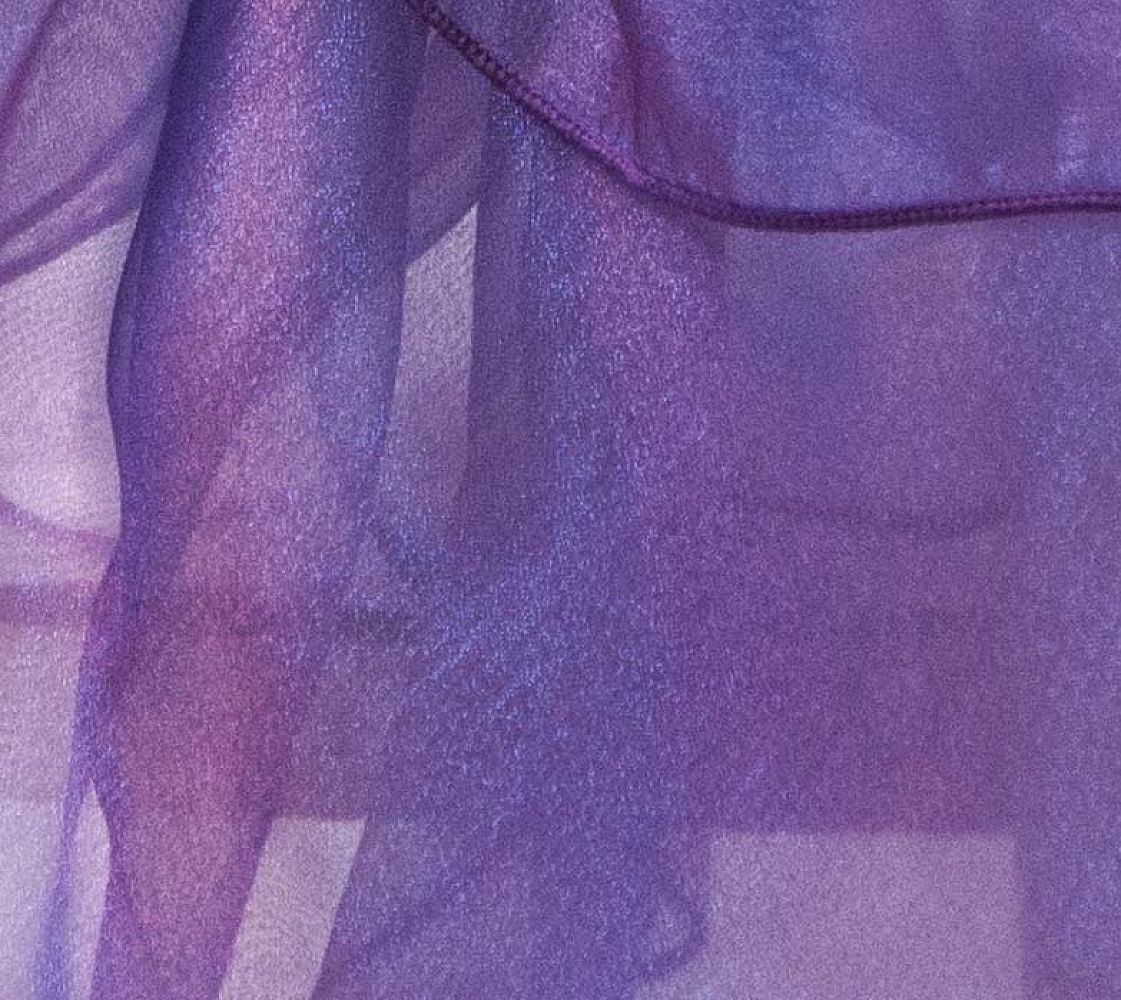 Organza Fabric - Dark Purple
