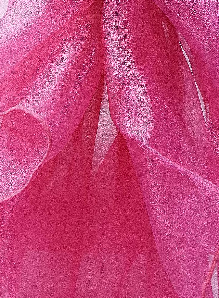 Organza Fabric - Hot Pink