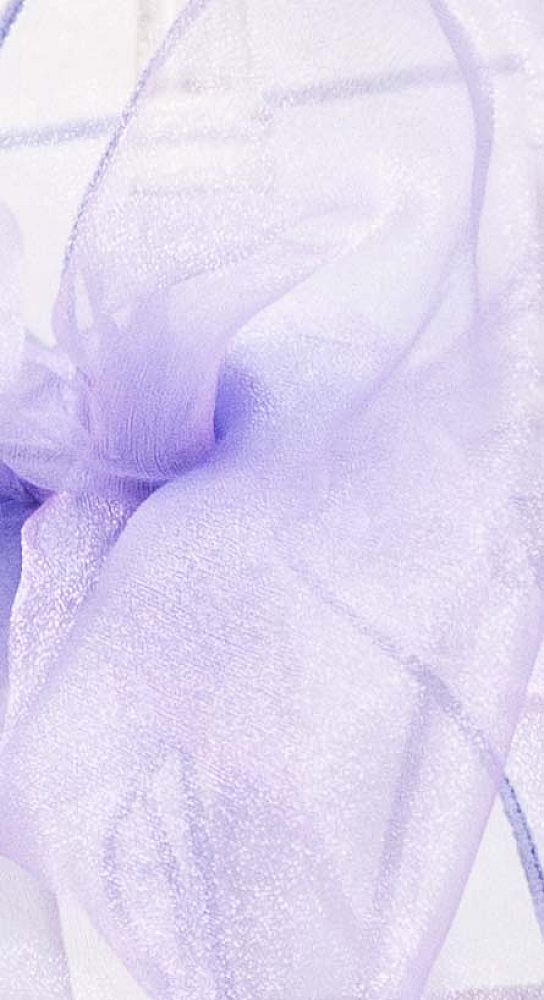 Organza Fabric - Lilac/Purple
