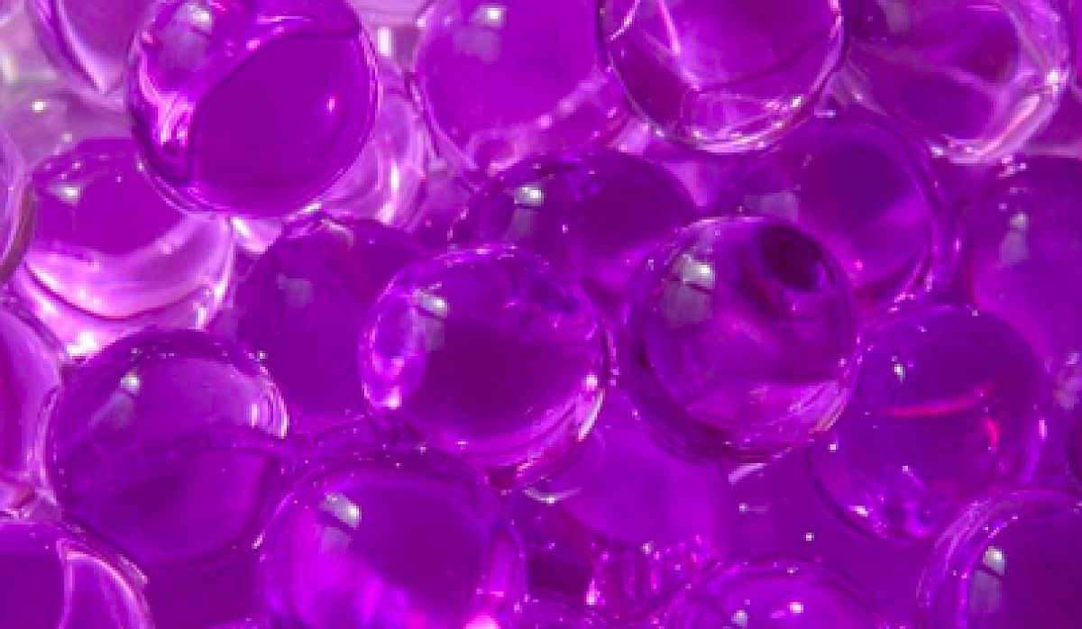 Water Pearls 100g 12mm - Purple