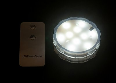 LED Light Base - White