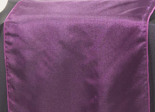 Organza Table Runners - Burgundy