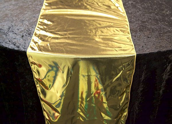 Premium Lame Table Runners - Gold
