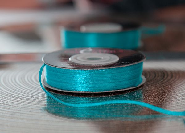 Decor Essential Satin Ribbons 03mm x 50m - Turquoise